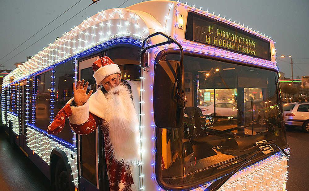 Расписание автобусов Кобрина в новогоднюю ночь